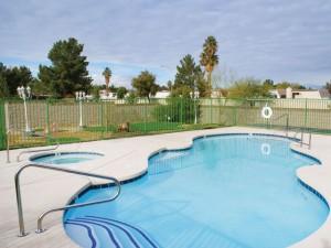 Pool for Villas at Viking Road